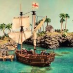 Pirate Cove gaming table for Firelock Games